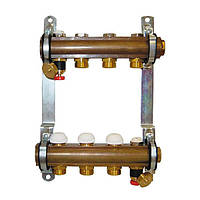 Коллектор для теплого пола Herz без расходомеров G 3/4 на 16 контуров