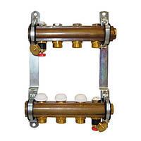 Коллектор для теплого пола Herz без расходомеров G 3/4 на 15 контуров