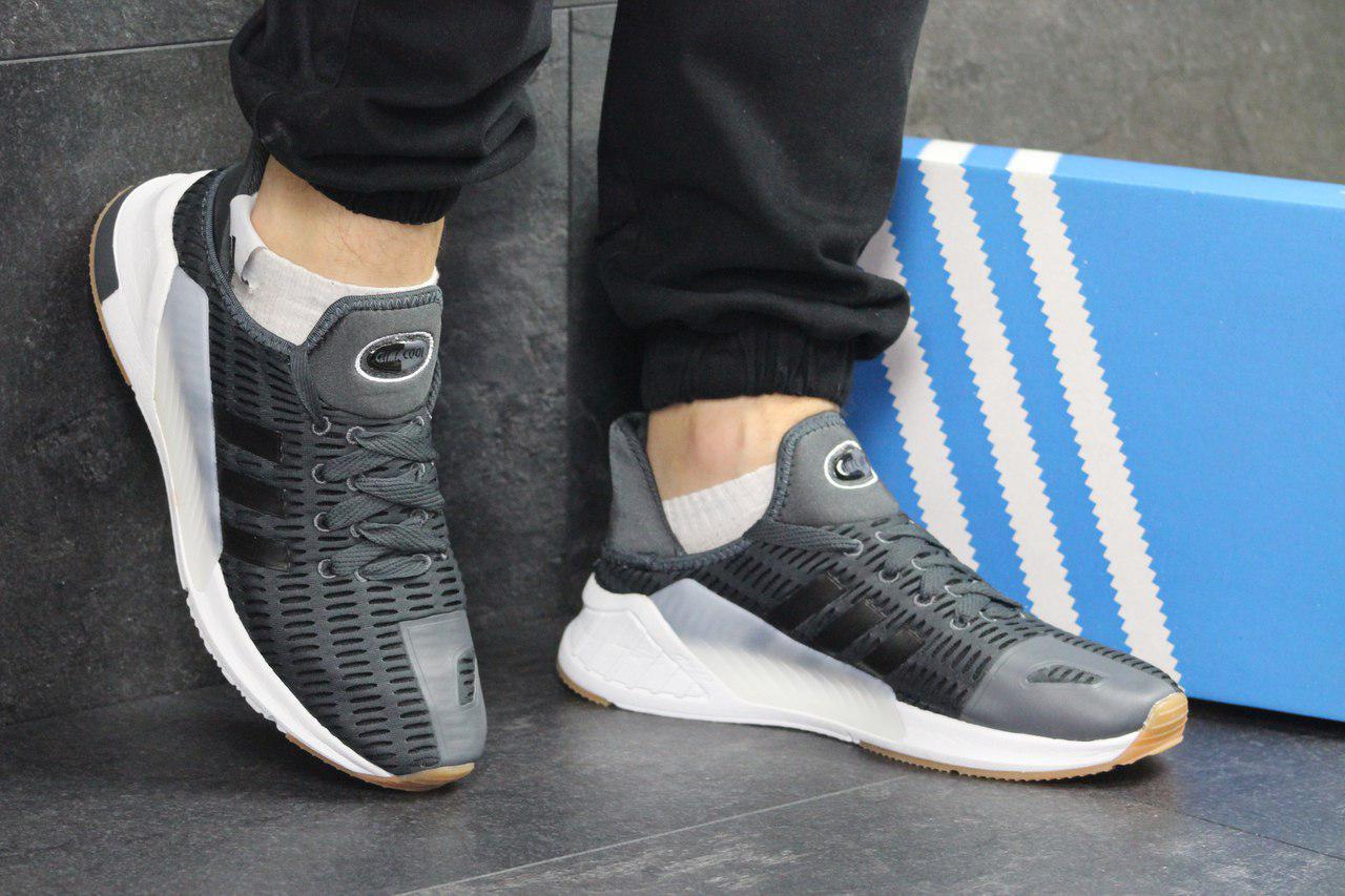 Кроссовки мужские серые  Adidas Climacool  4963
