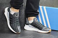 Кроссовки мужские серые  Adidas Climacool  4963, фото 1