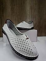 Летние женские туфли ALLSHOES 77937-11бел, фото 1
