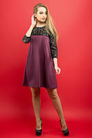 Сукня Емма (бордовий), фото 1