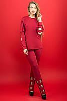 Спортивный костюм Блер (бордовый), фото 1