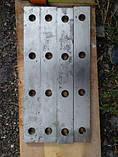 Ножи гильотинные ERFURT Эрфурт 1250х100х40 , фото 3