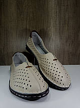 Летние женские туфли ALLSHOES 77937-11беж, фото 2