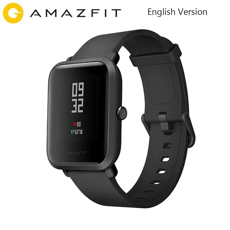 Смарт-часы Xiaomi Amazfit Bip Black ГЛОБАЛЬНАЯ ВЕРСИЯ