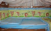 Детское постельное в кроватку из 3-ед