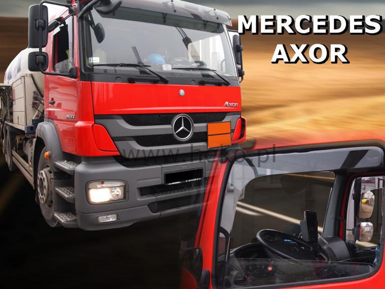 Дефлекторы окон (ветровики) Mercedes 817 1991 / AXOR  2D 2шт (Heko)