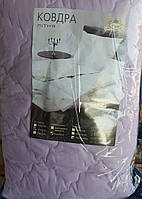 Летнее одеяло из овечьей шерсти. Полуторное 155*215. Розовое.
