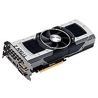 "Видеокарта EVGA GTX TITAN Z 12GB 384bit GDDR5 (12G-P4-3990-KR) ""Over-Stock"" Б\У"