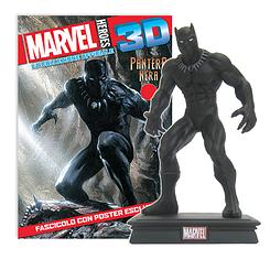 Миниатюрная фигура Герои Marvel 3D №08 Чёрная пантера (Centauria) масштаб 1:16
