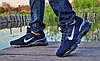 Кроссовки мужские синие Nike Air Max 360 сетка реплика, фото 5
