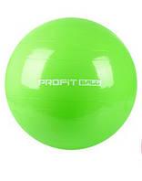 Мяч для фитнеса Profi 85 см Зеленый (MS 0384)
