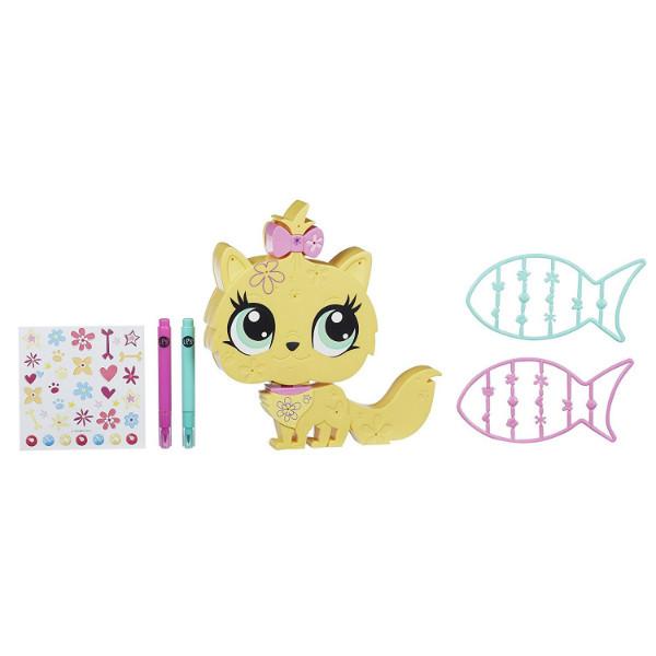 Littlest Pet Shop Укрась зверюшку Котенок Обновленный Style N Store Cat Pet