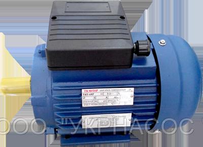Однофазный электродвигатель 1,5 кВт 3000 об