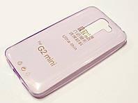 Чехол силиконовый ультратонкий для LG G2 mini d618 розовый