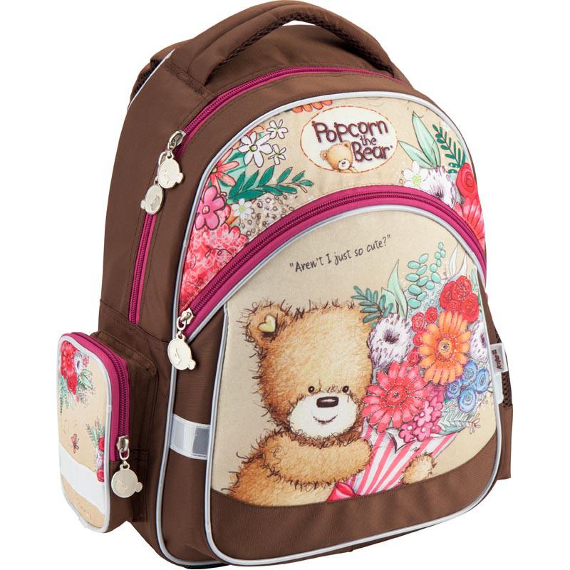 Рюкзак шкільний Kite 521 Popcorn the Bear PO18-521S