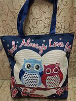 Пляжная сумка KA-029-4 (синий)