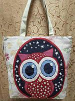 Пляжная сумка KA-029-9 (бежевый)