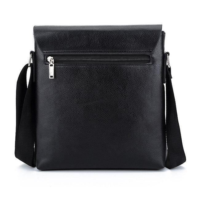 Мужская сумка Polo черная на плечо