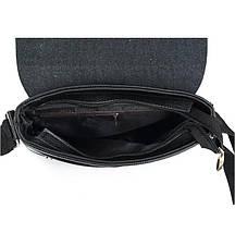Мужская сумка Polo черная на плечо, фото 2