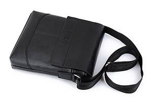 Мужская сумка Polo черная на плечо, фото 3