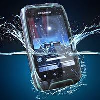 "Водонепроницаемый смартфон Hummer H1+ IP67, RETINA-дисплей 3.5"", GPS, 2800 мАч, Android, 5 Mpx."