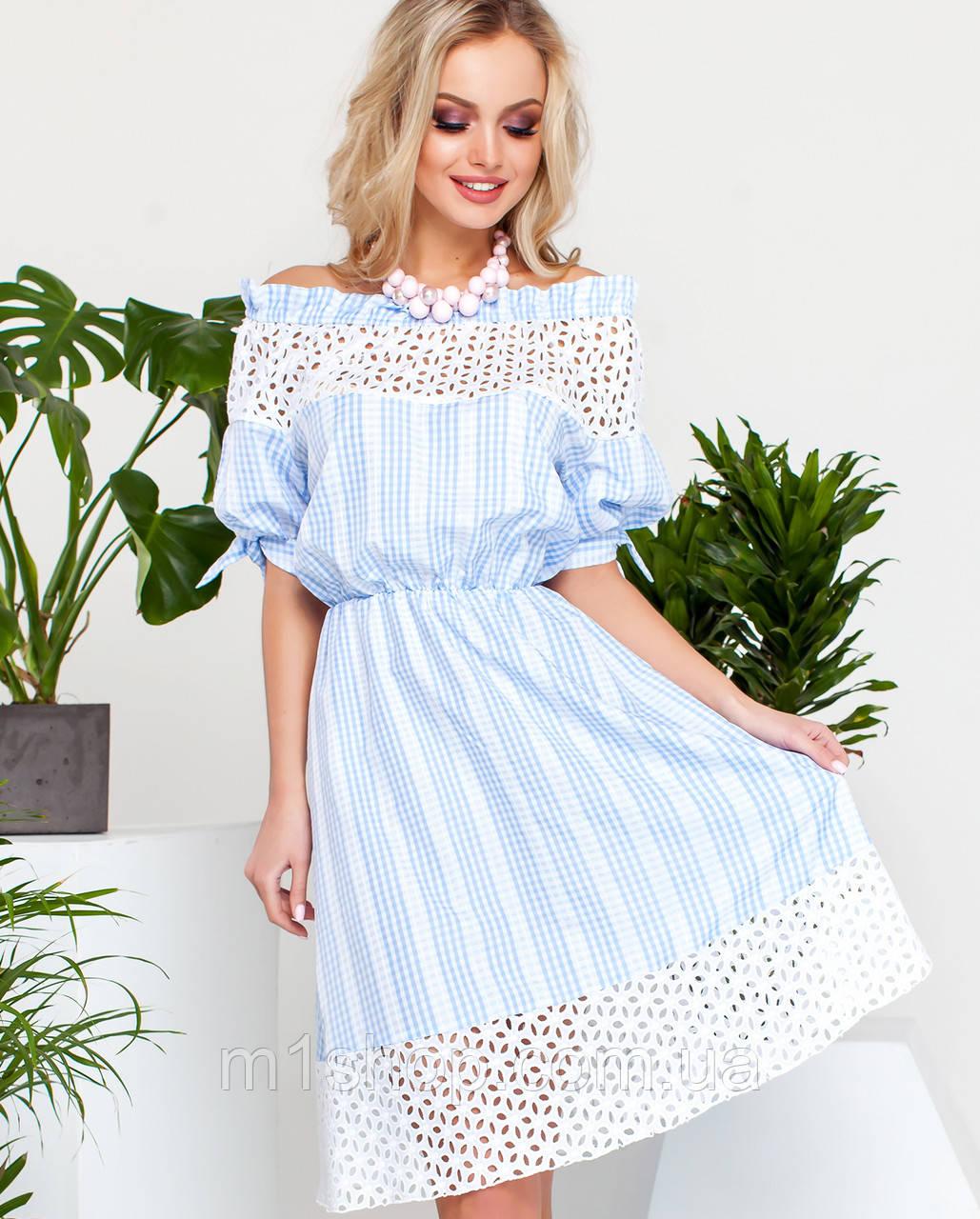 05f941197a7 Женское летнее платье с прошвой (Хизана jd) купить недорого Украина ...