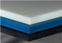 Полиацеталь лист, плита, толщина 45 мм, размер 1000х2000мм