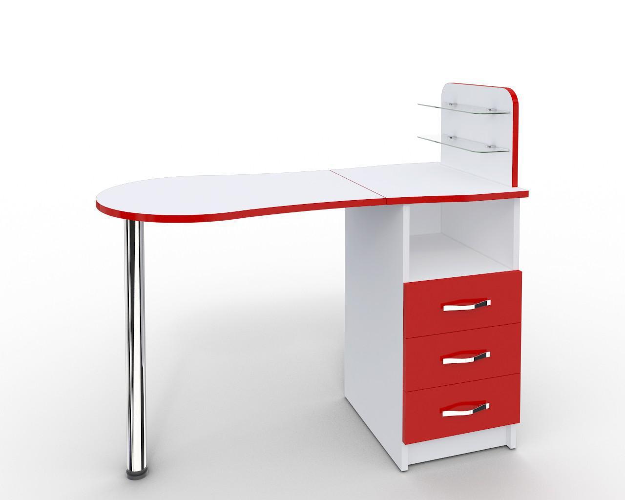 Маникюрный стол-трансформер со складывающейся Платон 9