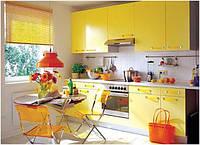 Кухня желтый глянец, фото 1