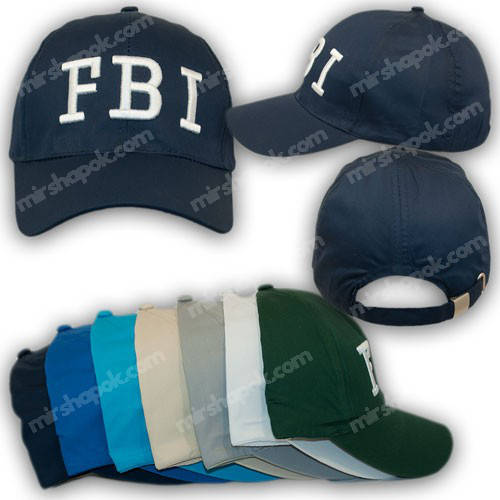 Бейсболка FBI, р. 54-56