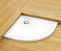 Душевой поддон Aquaform Plus 550 полукруглый супер мелкий (200-06921), 900х900х35 мм