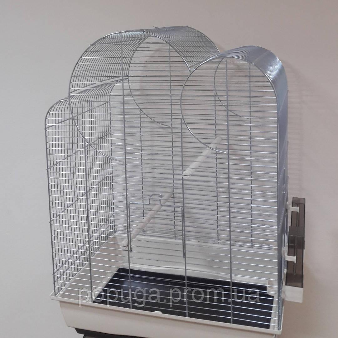 Клетка для птиц InterZoo Big Eliza, цинк