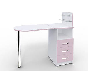 Маникюрный стол-трансформер со складывающейся  Платон 11, фото 2
