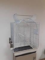 Клетка для средних попугаев EMMA open roof INTERZOO, 54*39*72 см , фото 1