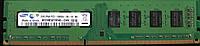 2Gb DDR3 PC3-10600 1333MHz Samsung б/у оперативка 2R двухсторонняя