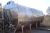 Пищевая емкость из нержавеющей стали.Объем-25м.куб.Термос.