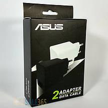 Зарядное устройство ASUS Travel Adapter, кабель (шнур) micro USB для смартфона, 1.35 А, зарядка асус, фото 3