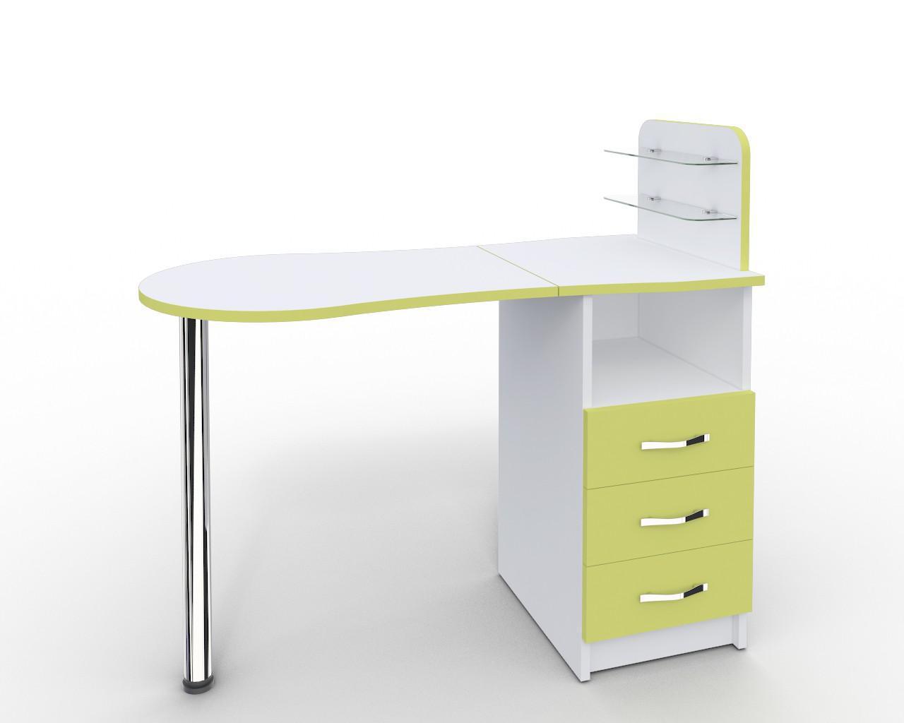Маникюрный стол-трансформер со складывающейся  Платон 15