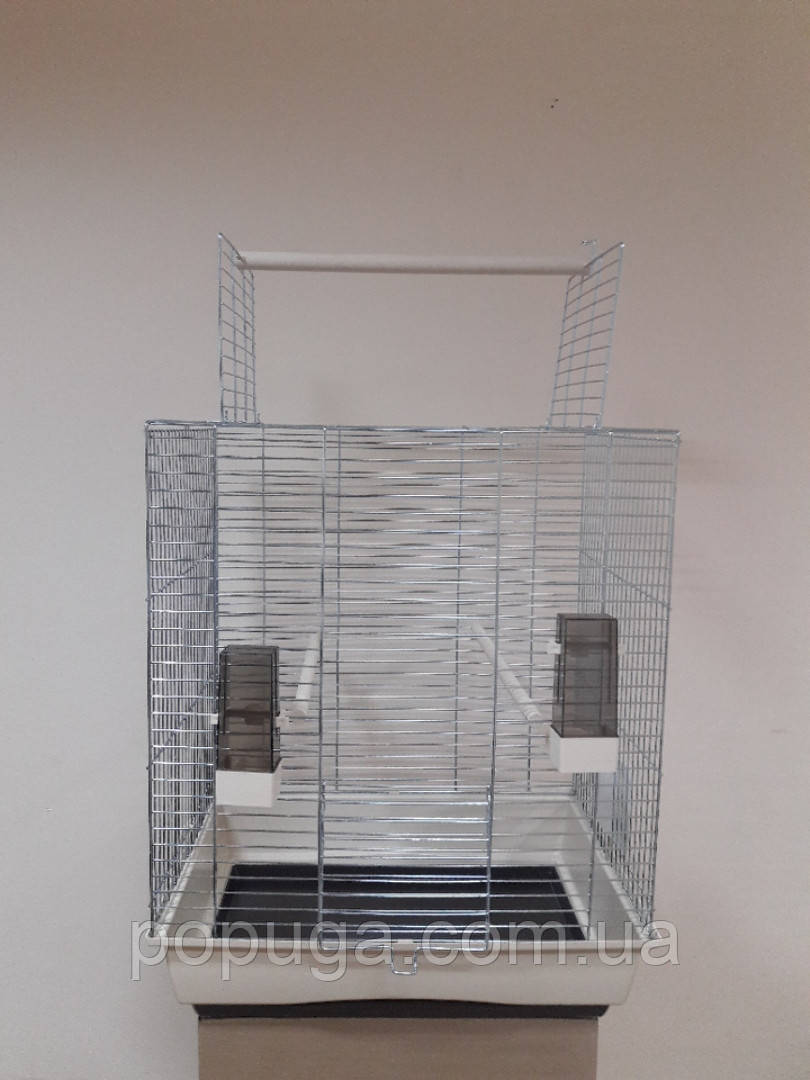 Клетка для попугаев Big Ara lnterZoo хром