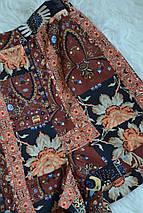 Легкие шорты в принт на высокой посадке Topshop, фото 2