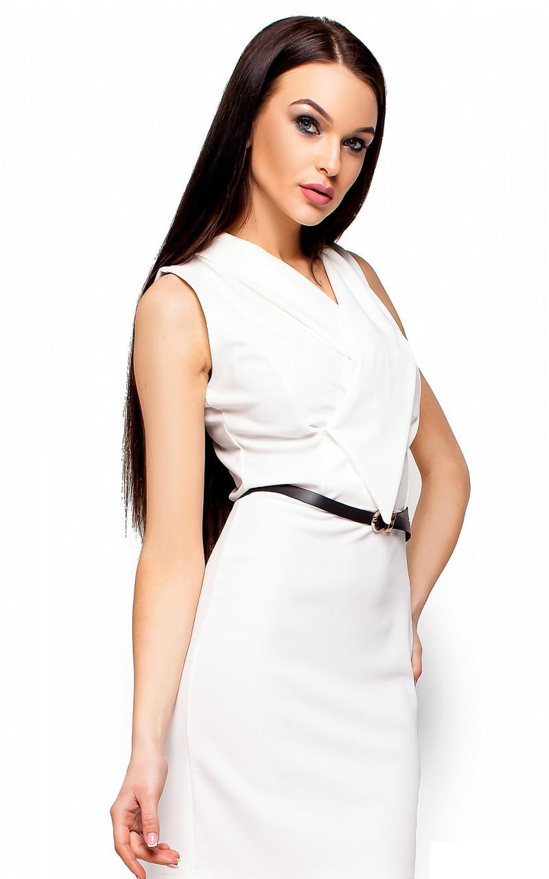 (S, M, L) Класичне біле плаття Venesy