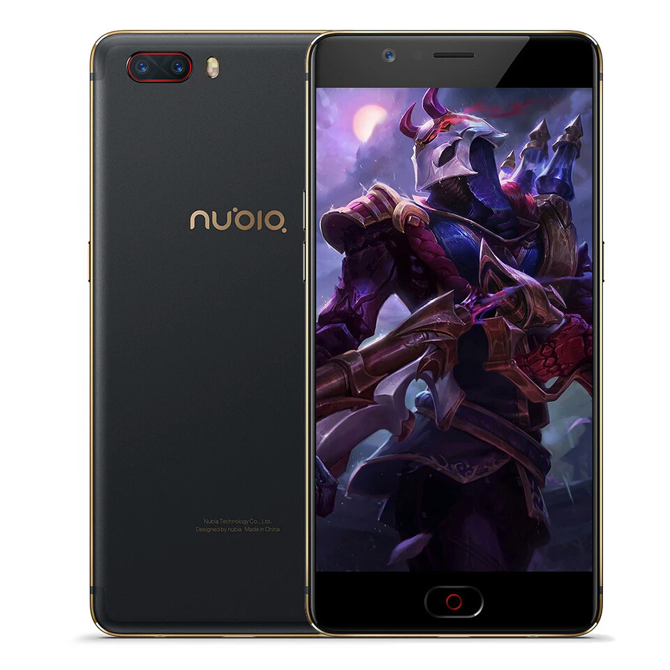 Смартфон ZTE Nubia M2 black 4/64gb super Amoled Global Version