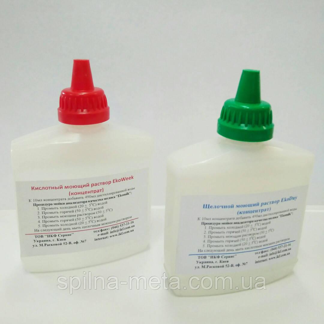 Промывки для анализаторов качества молока Ekomilk