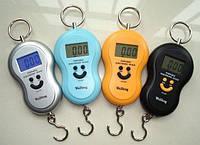 Весы портативные  электронные./ кантер электронный , до 50 кг., 3 цвета