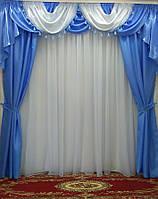 "Шторный комплект ""Ангелина"" на карниз от 2,5 до 3,5 м., фото 1"