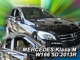 Дефлекторы окон (ветровики) Mercedes ML-klasse 166 2012-> 4шт (Heko)