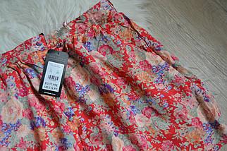 Новая цветочная короткая юбка с пуговичками New Look, фото 3