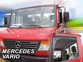 Дефлекторы окон (ветровики)  Mercedes Truck 814 1990-1996 /Vario 2D 2шт (Heko)